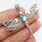 Black-Onyx-Dragonfly-925-Sterling-Silver-Pendant-Available-in-other-stones-too-B07RDL1Q54-6