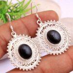 Black-Onyx-Gemstone-Sterling-Silver-Boho-Drop-Earrings-for-Women-and-Girls-Bezel-Set-Ear-Wire-Earrings-Black-Bridesmai-B08K62R9VK