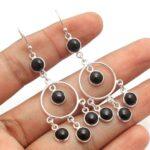 Black-Onyx-Gemstone-Sterling-Silver-Chandelier-Earrings-for-Women-and-Girls-Bezel-Set-Ear-Wire-Earrings-Black-Bridesma-B08K63VQ66