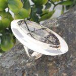 Black-Rutile-Quartz-Solid-925-Sterling-Silver-Ring-Handmade-Jewelry-B07L2TJ76H