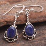 Blue-Sapphire-Gemstone-Sterling-Silver-Ellipse-Drop-Earrings-for-Women-and-Girls-Bezel-Set-Ear-Wire-Earrings-Blue-Brid-B08K61HJHC