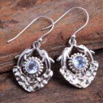 Blue-Topaz-Gemstone-Sterling-Silver-Dolfin-Fish-Dangle-Earrings-for-Women-and-Girls-Bezel-Set-Ear-Wire-Earrings-Blue-B-B08K63V459-2
