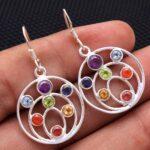 Blue-Topaz-Gemstone-Sterling-Silver-Drop-Earrings-for-Women-and-Girls-Bezel-Set-Ear-Wire-Earrings-Blue-Bridesmaid-Earr-B08K614X6J