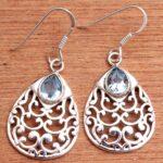 Blue-Topaz-Gemstone-Sterling-Silver-Filigree-Drop-Earrings-for-Women-and-Girls-Bezel-Set-Ear-Wire-Earrings-Blue-Brides-B08K62RP6P-2