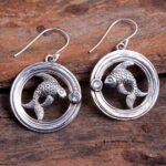 Blue-Topaz-Gemstone-Sterling-Silver-Fish-Drop-Earrings-for-Women-and-Girls-Bezel-Set-Ear-Wire-Earrings-Blue-Bridesmaid-B08K62JP17-2