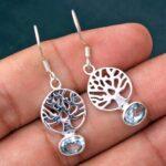 Blue-Topaz-Gemstone-Sterling-Silver-Tree-Drop-Earrings-for-Women-and-Girls-Bezel-Set-Ear-Wire-Earrings-Blue-Bridesmaid-B08K61Q324-2