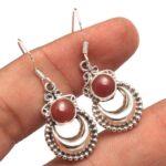 Carnelian-Gemstone-Sterling-Silver-Crescent-Dangle-Earrings-for-Women-and-Girls-Bezel-Set-Ear-Wire-Earrings-Orange-Bri-B08K642PWV