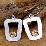 Citrine-Gemstone-Sterling-Silver-Dangle-Earrings-for-Women-and-Girls-Bezel-Set-Ear-Wire-Earrings-Yellow-Bridesmaid-Ear-B08K61Y3VB