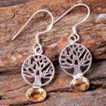 Citrine-Gemstone-Sterling-Silver-Tree-Drop-Earrings-for-Women-and-Girls-Bezel-Set-Ear-Wire-Earrings-Yellow-Bridesmaid-B08K6222J7-2