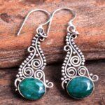 Emerald-Gemstone-Sterling-Silver-Drop-Earrings-for-Women-and-Girls-Bezel-Set-Ear-Wire-Earrings-Green-Bridesmaid-Earrin-B08K62BWP4-2