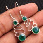 Green-Onyx-Gemstone-Sterling-Silver-Drop-Earrings-for-Women-and-Girls-Bezel-Set-Ear-Wire-Earrings-Green-Bridesmaid-Ear-B08K5ZTK7K