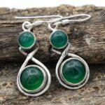 Green-Onyx-Gemstone-Sterling-Silver-Drop-Earrings-for-Women-and-Girls-Bezel-Set-Ear-Wire-Earrings-Green-Bridesmaid-Ear-B08K61HPND-2