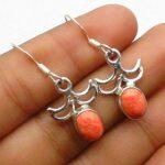 Jasper-Gemstone-Sterling-Silver-Drop-Earrings-for-Women-and-Girls-Bezel-Set-Ear-Wire-Earrings-Orange-Bridesmaid-Earrin-B08K6337GR