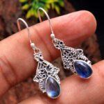 Kyanite-Gemstone-Sterling-Silver-Boho-Drop-Earrings-for-Women-and-Girls-Bezel-Set-Ear-Wire-Earrings-Blue-Bridesmaid-Ea-B08K61RHJ4