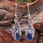 Kyanite-Gemstone-Sterling-Silver-Boho-Drop-Earrings-for-Women-and-Girls-Bezel-Set-Ear-Wire-Earrings-Blue-Bridesmaid-Ea-B08K61RHJ4-2