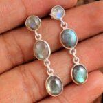 Labradorite-Gemstone-Sterling-Silver-3-tier-Drop-Earrings-for-Women-and-Girls-Bezel-Set-Pushback-Earrings-Blue-Bridesm-B08K62Y688-2