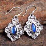 Labradorite-Gemstone-Sterling-Silver-Dangle-Earrings-for-Women-and-Girls-Bezel-Set-Ear-Wire-Earrings-Blue-Bridesmaid-E-B08K5YL26D