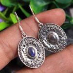 Labradorite-Gemstone-Sterling-Silver-Dangle-Earrings-for-Women-and-Girls-Bezel-Set-Ear-Wire-Earrings-Blue-Bridesmaid-E-B08K611ZT5
