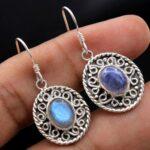 Labradorite-Gemstone-Sterling-Silver-Dangle-Earrings-for-Women-and-Girls-Bezel-Set-Ear-Wire-Earrings-Blue-Bridesmaid-E-B08K623RWZ