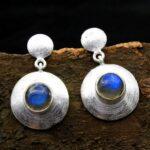 Labradorite-Gemstone-Sterling-Silver-Dangle-Earrings-for-Women-and-Girls-Bezel-Set-Pushback-Earrings-Blue-Bridesmaid-E-B08K5ZM28L