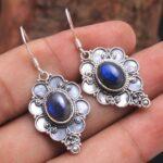 Labradorite-Gemstone-Sterling-Silver-Designer-Drop-Earrings-for-Women-and-Girls-Bezel-Set-Ear-Wire-Earrings-Blue-Bride-B08K62BZP4
