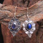 Labradorite-Gemstone-Sterling-Silver-Designer-Drop-Earrings-for-Women-and-Girls-Bezel-Set-Ear-Wire-Earrings-Blue-Bride-B08K62BZP4-2