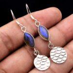 Labradorite-Gemstone-Sterling-Silver-Drop-Earrings-for-Women-and-Girls-Bezel-Set-Ear-Wire-Earrings-Blue-Bridesmaid-Ear-B08K5Z4QTK-2
