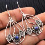Labradorite-Gemstone-Sterling-Silver-Drop-Earrings-for-Women-and-Girls-Bezel-Set-Ear-Wire-Earrings-Blue-Bridesmaid-Ear-B08K6192DK-2