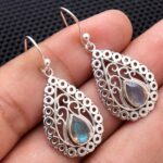 Labradorite-Gemstone-Sterling-Silver-Drop-Earrings-for-Women-and-Girls-Bezel-Set-Ear-Wire-Earrings-Blue-Bridesmaid-Ear-B08K64D9QM
