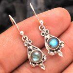 Labradorite-Gemstone-Sterling-Silver-Small-Drop-Earrings-for-Women-and-Girls-Bezel-Set-Ear-Wire-Earrings-Blue-Bridesma-B08K62FKYD-2