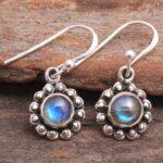 Labradorite-Gemstone-Sterling-Silver-Small-Drop-Earrings-for-Women-and-Girls-Bezel-Set-Ear-Wire-Earrings-Blue-Bridesma-B08K62HDZF-2