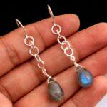 Labradorite-Gemstone-Sterling-Silver-Tear-Drop-Earrings-for-Women-and-Girls-Bezel-Set-Ear-Wire-Earrings-Blue-Bridesmai-B08K64NNL3