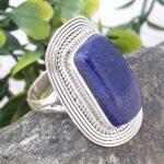 Lapis-Lazuli-Solid-925-Sterling-Silver-Ring-Jewelry-Handmade-Lapis-Ring-for-Girls-Statement-Gemstone-Ring-B07KDB5J2X