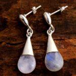 Moonstone-Gemstone-Sterling-Silver-Bead-Drop-Earrings-for-Women-and-Girls-Bezel-Set-Pushback-Earrings-White-Bridesmaid-B08K61RBXF-2