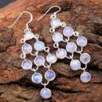 Moonstone-Gemstone-Sterling-Silver-Boho-Chandelier-Earrings-for-Women-and-Girls-Bezel-Set-Ear-Wire-Earrings-White-Brid-B08K63KFW3