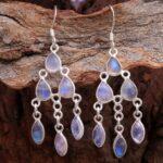 Moonstone-Gemstone-Sterling-Silver-Chandelier-Earrings-for-Women-and-Girls-Bezel-Set-Ear-Wire-Earrings-White-Bridesmai-B08K62HRWZ-2