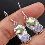 Moonstone-Gemstone-Sterling-Silver-Dangle-Earrings-for-Women-and-Girls-Bezel-Set-Ear-Wire-Earrings-White-Bridesmaid-Ea-B08K628VNF