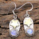 Moonstone-Gemstone-Sterling-Silver-Dangle-Earrings-for-Women-and-Girls-Bezel-Set-Ear-Wire-Earrings-White-Bridesmaid-Ea-B08K628VNF-2