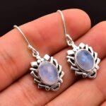 Moonstone-Gemstone-Sterling-Silver-Dangle-Earrings-for-Women-and-Girls-Bezel-Set-Ear-Wire-Earrings-White-Bridesmaid-Ea-B08K64H5RS