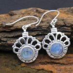 Moonstone-Gemstone-Sterling-Silver-Dangle-Earrings-for-Women-and-Girls-Bezel-Set-Ear-Wire-Earrings-White-Bridesmaid-Ea-B08K64TXCG-2
