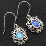 Moonstone-Gemstone-Sterling-Silver-Dangle-Earrings-for-Women-and-Girls-Bezel-Set-Ear-Wire-Earrings-White-Bridesmaid-Ea-B08K65TTQ8