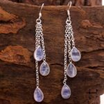 Moonstone-Gemstone-Sterling-Silver-Drop-Chandelier-Earrings-for-Women-and-Girls-Bezel-Set-Ear-Wire-Earrings-White-Brid-B08K5YD1H6