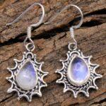 Moonstone-Gemstone-Sterling-Silver-Drop-Earrings-for-Women-and-Girls-Bezel-Set-Ear-Wire-Earrings-White-Bridesmaid-Earr-B08K63KFW1-2