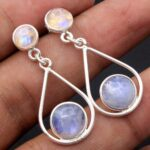 Moonstone-Gemstone-Sterling-Silver-Drop-Earrings-for-Women-and-Girls-Bezel-Set-Pushback-Earrings-White-Bridesmaid-Earr-B08K62YPV1-2