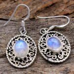 Moonstone-Gemstone-Sterling-Silver-Geomatrix-Dangle-Earrings-for-Women-and-Girls-Bezel-Set-Ear-Wire-Earrings-White-Bri-B08K63F438