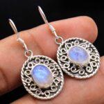 Moonstone-Gemstone-Sterling-Silver-Geomatrix-Dangle-Earrings-for-Women-and-Girls-Bezel-Set-Ear-Wire-Earrings-White-Bri-B08K63F438-2