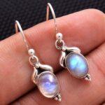 Moonstone-Gemstone-Sterling-Silver-Small-Dangle-Earrings-for-Women-and-Girls-Bezel-Set-Ear-Wire-Earrings-White-Bridesm-B08K61XXX1-2