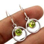 Peridot-Gemstone-Sterling-Silver-Dangle-Earrings-for-Women-and-Girls-Bezel-Set-Ear-Wire-Earrings-Green-Bridesmaid-Earr-B08K63MNTQ-2