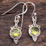 Peridot-Gemstone-Sterling-Silver-Small-Drop-Earrings-for-Women-and-Girls-Bezel-Set-Ear-Wire-Earrings-Green-Bridesmaid-B08K632758-2