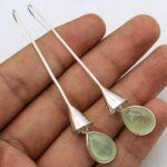 Prehnite-Gemstone-Sterling-Silver-Ring-Bell-Drop-Earrings-for-Women-and-Girls-Bezel-Set-Fishhook-Earrings-Green-Brides-B08K62FMTG-2